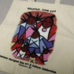 Custom Printed Tote Bags with Aboriginal Designs