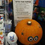 Ideas for Malls to Drive Foot Traffic: Pumpkin Tattoo Kit