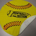 Custom Printed Sport Themed Towels
