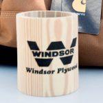 Fun with a Brand: Custom Wooden Koozie